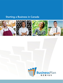 Starting a Business in Canada book cover